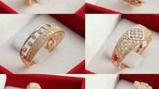 Stylish rings gold designs beautiful look (Diy jewelry) 2018