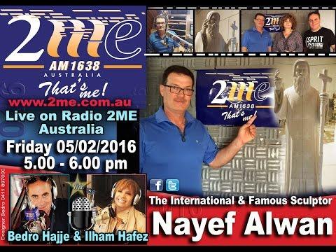 AD Nayef Alwan on Radio 2me Australia with Bedro & Ilham