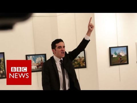 Russian ambassador Andrei Karlov shot dead in Turkey - BBC News