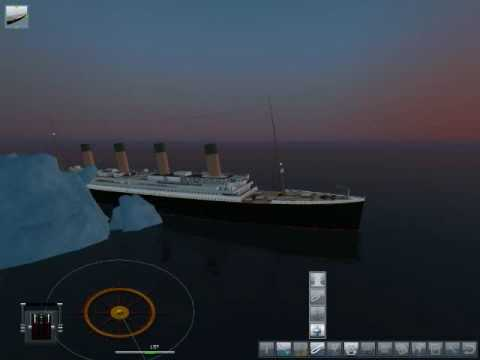 RMS Titanic Memorial Sinking Video - Ship Simulator 2008