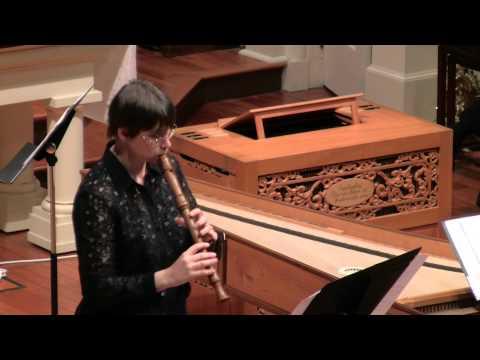 Corelli: Sonata in F Major Op.5 No.4  Hanneke van Proosdij, recorder