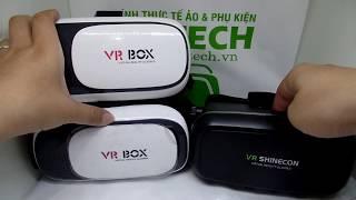 Cảnh báo kính thực tế ảo VR Box và VR Shinecon fake bán tràn lan thị trường
