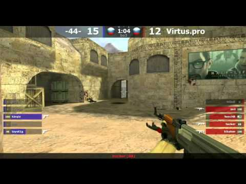 Semifinal : Virtus.pro vs. -44- @ dust2