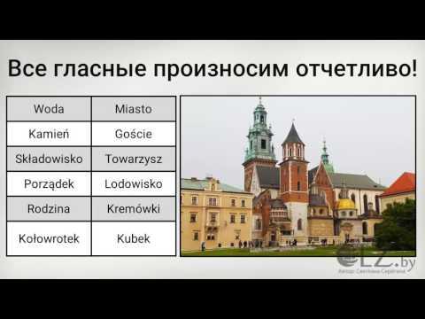 Мастер класс №2  Вся фонетика польского языка!
