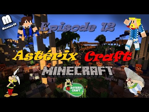 [Minecraft] Visite du serveur AstérixCraft (Parc Astérix) | Episode 12- [HD]