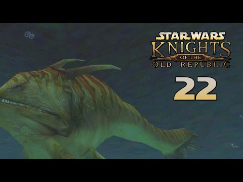 Star Wars: Knights of the Old Republic (#23) - Няшные Акулки ^_^