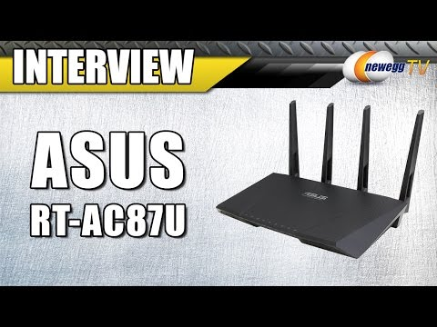 ASUS RT-AC87U Wireless Router Interview - Newegg TV