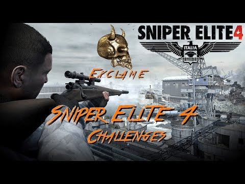Sniper Elite 4: Deathstorm 1 - Cool Runnings + Perfect Payback + Snow Blind Challenges