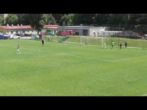 Sestřih branek U15 Slavia Praha - FCB