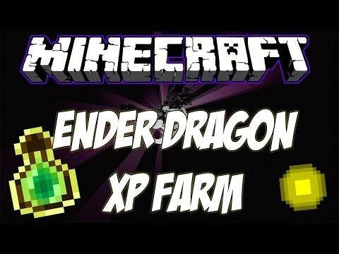 Minecraft: Ender Dragon XP FARM 50lvl/10s ¿Panda4994 Bromeaba? - Español