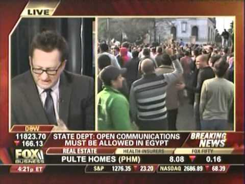 Ham Radio mentioned on Fox Business in Egypt Crisis