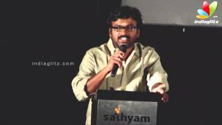 Sutta Kadhai - Karu Pazhanaiappan  talks about Manivannan   Sutta Kadhai Audio Launch   Nassar, MS Bhaskar