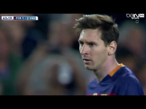 Barcelona vs Valencia 1-2 All Goals 17-04-2016