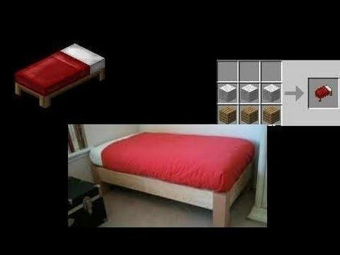Как в майнкрафте сделать утро без кровати