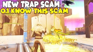 NEW SPACE TRAP SCAM! 😱 (Scammer Gets Scammed) Fortnite Save The World