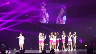 [fancam] 131110 Girls Yoona Sooyoung singing Complete @ SNSD GG TOUR IN HONG KONG