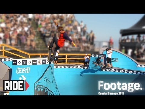Tony Hawk, Tom Remillard, Ben Raybourne, and More! - COASTAL CARNAGE 2011