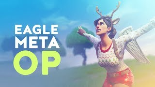 EAGLE META IS OVERPOWERED - MY MAP NOW! (Fortnite Battle Royale)
