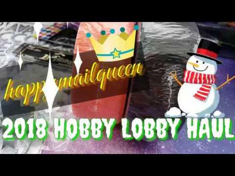 Hobby Lobby Haul!! 40% OFF DIES