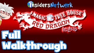 Magic Tree House - ★ Poptropica: Red Dragon Island FULL Walkthrough ★