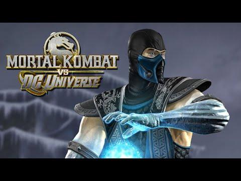 Zerando com Sub Zero no Arcade, Mortal Kombat vs Dc Universe, gameplay no Xbox 360