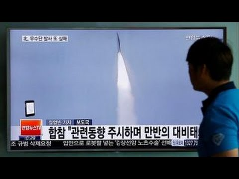 North Korea's latest attempt to fire a missile fails