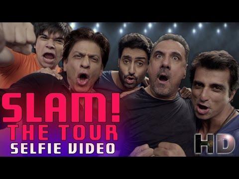 SLAM! The Tour 2014 | Selfie Video | Shah Rukh Khan | Abhishek Bachchan