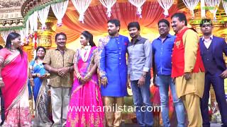 FEFSI Vijayan Son Wedding Reception