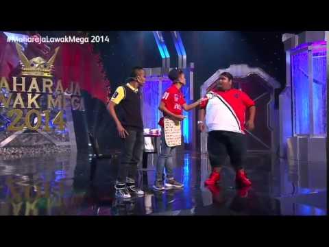 Maharaja Lawak Mega 2014 - Minggu 1 (Bocey)