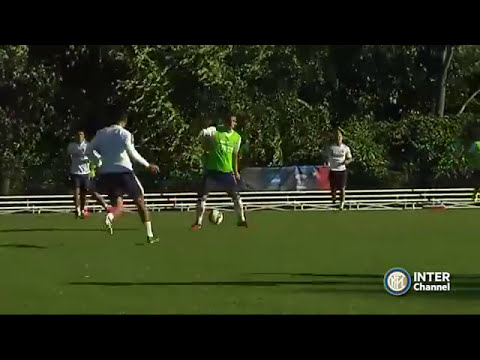 #INTERFORUS - ALLENAMENTO INTER REAL AUDIO 28 07 2014