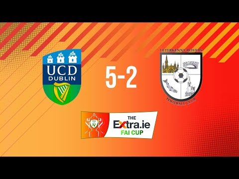 Extra.ie FAI Cup First Round: UCD 5-2 Letterkenny Rovers