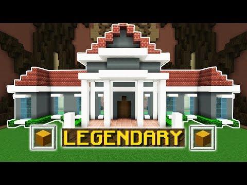 LEGENDARY MANSIOn Minecraft Build Battle