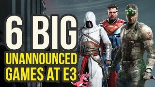 6 BIG UNANNOUNCED GAMES We Will Likely See At E3 2018 (Assassin's Creed 2018 & More) - JorGameShow 1
