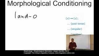 MOR106 - Morphological Alternation