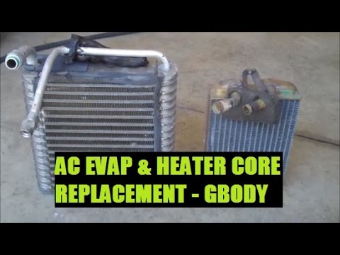 How To Replace Heater Core and AC Evaporator Classic Gbody Garage