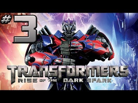 Transformers Rise of the Dark Spark Walkthrough - PART 3 - Soundwave, Starscream & Shockwave Chillin