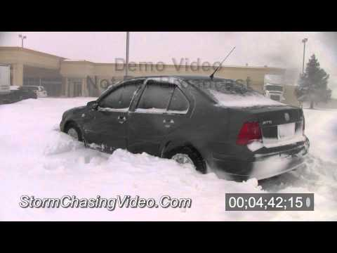 2/1/2011 and 2/2/2011 Joplin, MO Blizzard Video