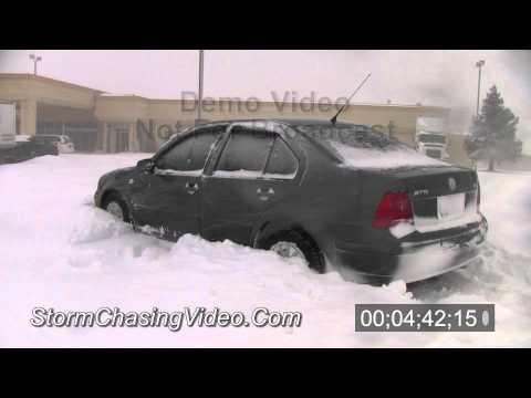 2/1/2011 and 2/2/2011 Joplin, MO Blizzard Video