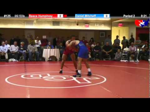 NYAC FS 60 KG / 132.25 lbs: Reece Humphrey vs. Daniel Mitcheff