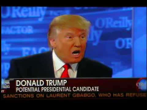 Bill O'Reilly vs. Donald Trump (3/30/2011) (part 1)