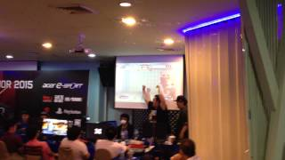 SEAM 2015 - Daigo Umehara vs. Xian | crowd reaction! USFIV