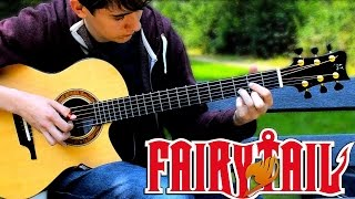 Fairy Tail Main Theme Slow - Fingerstyle Guitar Cover
