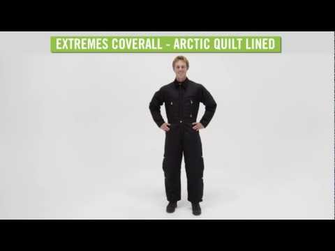 Video: Men's Extremes Coverall - Arctic Quilt Lined
