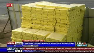 Trotoar Dipercantik Sambut Asian Games 2018
