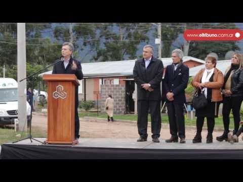 Macri entregó la vivienda N° 1000 de Ledesma