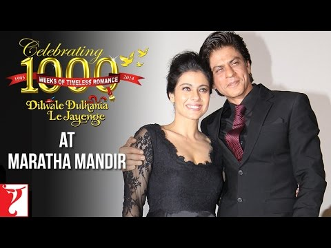 Celebrating 1000 Weeks Of DDLJ At Maratha Mandir