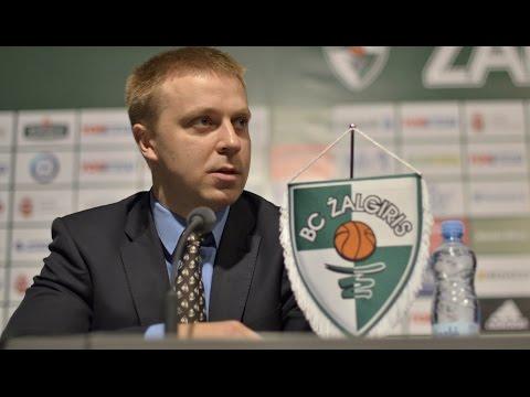 """Kauno """"Žalgirio"""" spaudos konferencija (tiesioginis vaizdo įrašas)"""