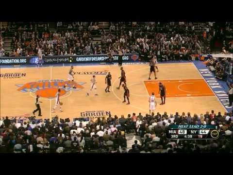 LeBron James & Dwyane Wade Highlights - Knicks vs Heat Game 3 Playoffs 2012