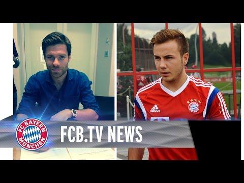 Xabi Alonso da, FC Bayern vor Schalke
