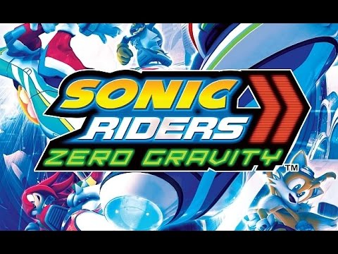 Sonic Riders Zero Gravity (Wii) All characters, race courses, and gears